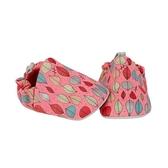 英國POCONIDO 手工鞋|嬰兒鞋|學步鞋~秋葉(紅) (6~24M)