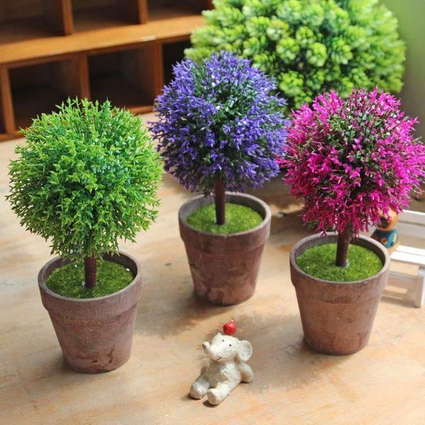 [超豐國際]仿真植物盆栽盆景桌面裝飾品擺件 客廳仿真小綠植家1入