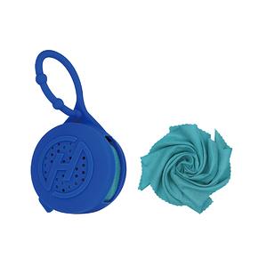 【Hypercool】奈米科技極度涼感巾X4 (S)寶石藍-S
