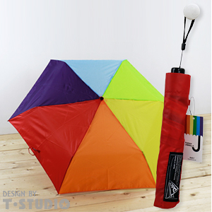 【PAR.T】彩虹摺疊傘/熱情紅色傘套