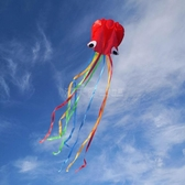 濰坊軟體章魚風箏新款大型高檔成人軟體八爪魚微風易飛初學者兒童 滿天星