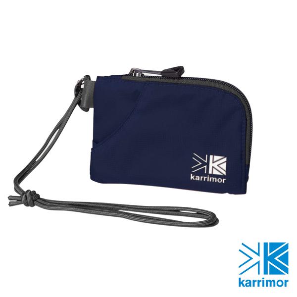 日系[ Karrimor ] trek carry team purse 隨身掛袋 午夜藍