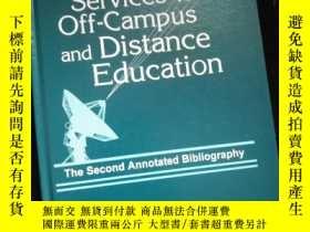 二手書博民逛書店Library罕見Services for Off-Campus and Distance Education