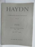 【書寶二手書T7/音樂_PCJ】HAYDN_Vol.1_原曲版