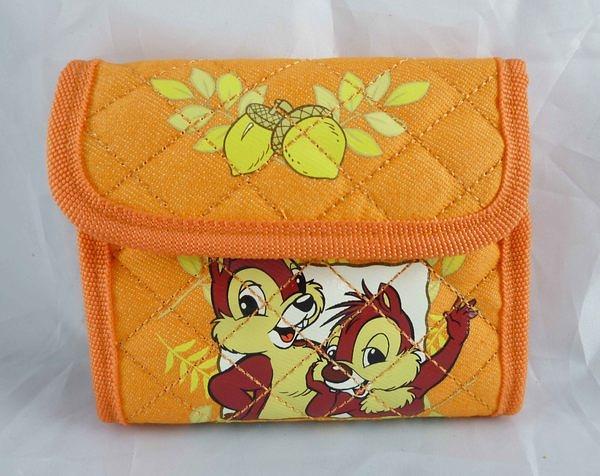 【震撼精品百貨】Chip N Dale_奇奇蒂蒂松鼠~錢包『附頸繩』
