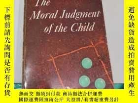 二手書博民逛書店the罕見moral judgment of the child(V100)Y173412 Jean Piag