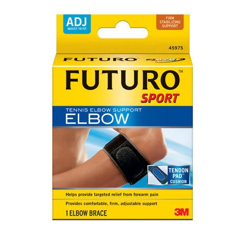 《FUTURO》網球/高爾夫球護肘/3M護肘-運動型(2入)棒球、排球、羽毛球也適用