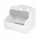 韓國 IFAM 多功能玩具收納櫃|書櫃-灰白色(大空間收納/簡單組裝)