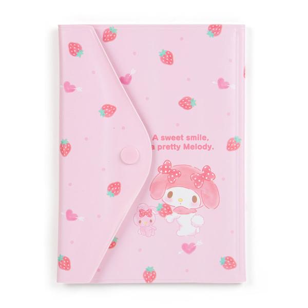 【震撼精品百貨】My Melody_美樂蒂`卡片收納夾-草莓*70082