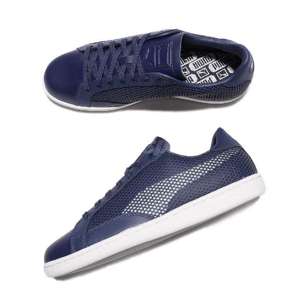 Puma 休閒鞋 Match 74 Summer Shade 藍 白 復古休閒鞋 基本款 男鞋【PUMP306】 36244303