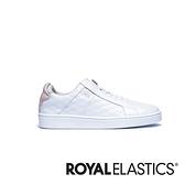 ROYAL ELASTICS Icon SBI 粉白真皮時尚休閒鞋 (女) 92502-016