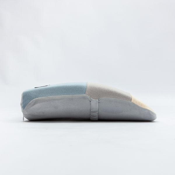 絢藍質紋低反彈腰墊-生活工場