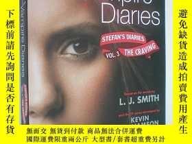 二手書博民逛書店The罕見Vampire Diaries: Stefan s Diaries #3: The Craving (平