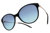 Tiffany&CO.太陽眼鏡 TF4127 80559S (黑-金) 高雅浪漫愛心款 # 金橘眼鏡