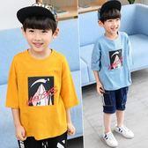 男童短袖t恤純棉半袖夏裝新款 兒童上衣夏季小貝潮品韓版童裝