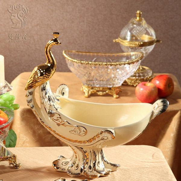 新款歐式陶瓷果盤