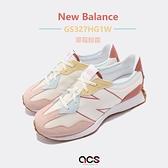 New Balance 休閒鞋 327 NB 女鞋 大童鞋 中童 7-14歲 粉紅 【ACS】 GS327HG1-W