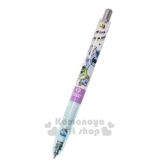 〔小禮堂〕迪士尼 怪獸大學 日製自動鉛筆《綠白.吼叫》0.5mm.自動筆.DelGuard系列 4991277-09931