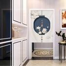可愛時尚棉麻門簾E384 廚房半簾 咖啡簾 窗幔簾 穿杆簾 風水簾 (85寬*150cm高) 加流蘇