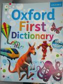 【書寶二手書T1/字典_QLA】Oxford First Dictionary-The perfect…