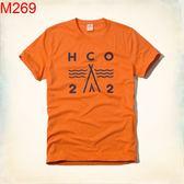 HCO Hollister Co. 男 當季最新現貨 T-SHIRT HCO M269