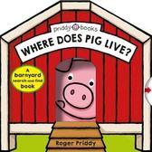 【豬年必買幼兒操作書 】WHERE DOES PIG LIVE ? /硬頁翻翻書