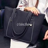 托特包女包2010新款韓版手提包單肩女大包包時尚大容量簡約百搭潮 快速出貨