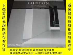 二手書博民逛書店2手英文罕見London Minimum (World Desi