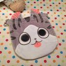 【發現。好貨】貓咪束口袋 收納袋 化妝包 拍得立相機包