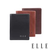 背包族【ELLE HOMME】品牌名片夾/卡片夾(黑色、深咖啡色、淺咖啡色)