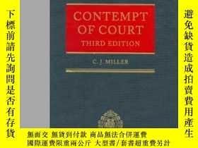 二手書博民逛書店Contempt罕見Of CourtY255174 C. J.