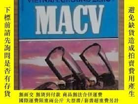 二手書博民逛書店英文原版罕見Vietnam: Ground Zero: MacV