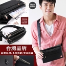 Catsbag 台灣品牌五層設計耐磨抗刮防潑水斜背包 腰包