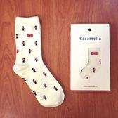 日本Caramella英國皇家衛兵小士兵中筒襪♥️ 短襪子 卡通 個性 復古