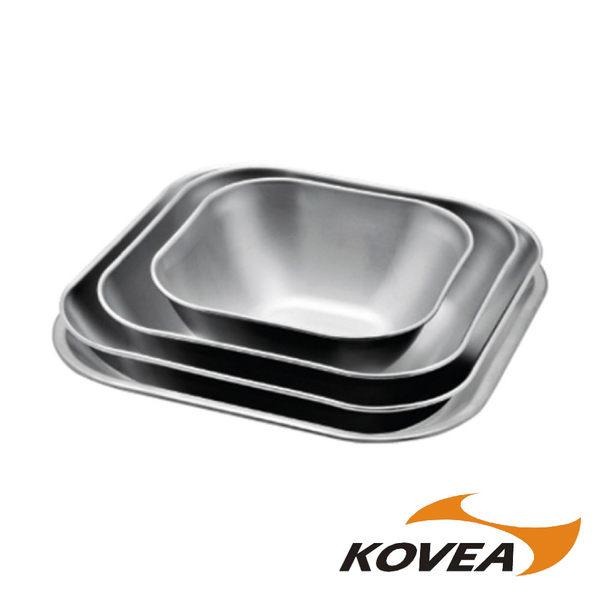 KOVEA ST方型餐盤碗組4入 戶外 露營 野餐 KK8CK0101