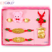 EZGOLD-博士天使-彌月金飾禮盒 (0.50錢)
