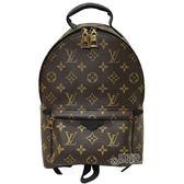 【Louis Vuitton 路易威登】M41560 PALM SPRINGS系列PM牛皮鑲飾拉鍊後背包