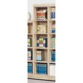 【森可家居】法克橡木五格櫃 8SB236-8 開放書櫃 收納 木紋質感  無印北歐風 MIT台灣製造