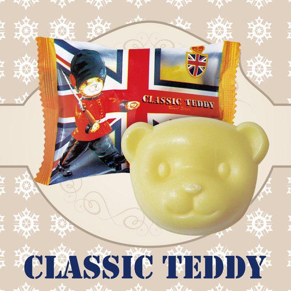 CLASSIC TEDDY 精典泰迪 正版授權鮮萃橄欖潤膚皂/精油皂 小熊造型香皂 最佳使用日期:2019/01/10