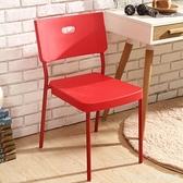椅子時尚現代簡約餐廳書桌椅家用靠背椅電腦凳子成人塑料創意餐椅 新品全館85折 YTL
