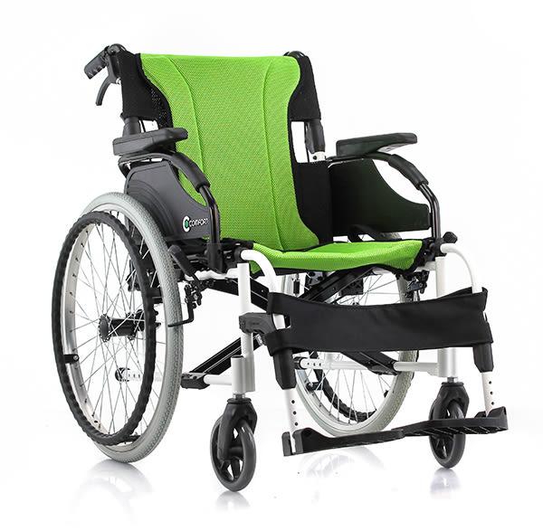 『COMFORT』康而富時尚輔具 CT-3500 18 後大輪 兩件式可拆洗座背墊/照護輪椅/外出輪椅