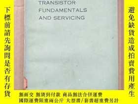 二手書博民逛書店transistor罕見fundamentals and servicing(P3533)Y173412