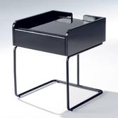【YFS】娜米小方几-46x46x55cm(兩色可選)黑色