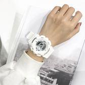 INS超火的手錶女學生韓版簡約潮流ULZZANG休閒大氣CHIC運動電子錶QM 莉卡嚴選
