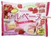 【吉嘉食品】北日本 三角草莓蛋糕(草莓巧克力迷你蛋糕) 1包134.4公克,日本進口[#1]{4901360327782}