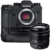 24期零利率 FUJIFILM X-H1 單機身 + VPB 電池手把組 公司貨 +XF 18-55mm 公司貨拆鏡