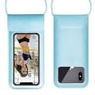 手機防水袋潛水套游泳漂流觸屏通用防塵袋蘋果X華為vivo殼包oppo 【快速出貨】