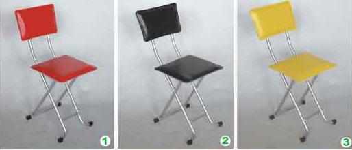 【南洋風休閒傢俱】餐椅-亞方折合椅 休閒椅 造型椅 美容椅 補助椅 (583-10)