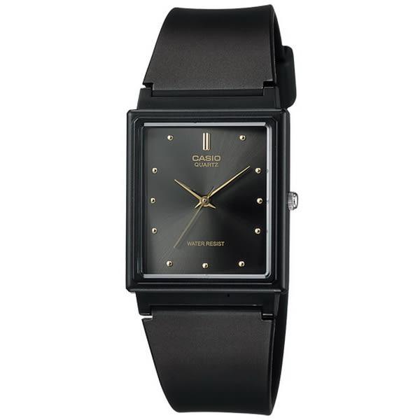 【台南 時代鐘錶 CASIO】卡西歐 台灣公司貨 MQ-38-1A 古典品味長方形指針式腕錶