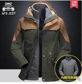 大碼戶外沖鋒衣防水透氣保暖登山服BS14415『時尚玩家』